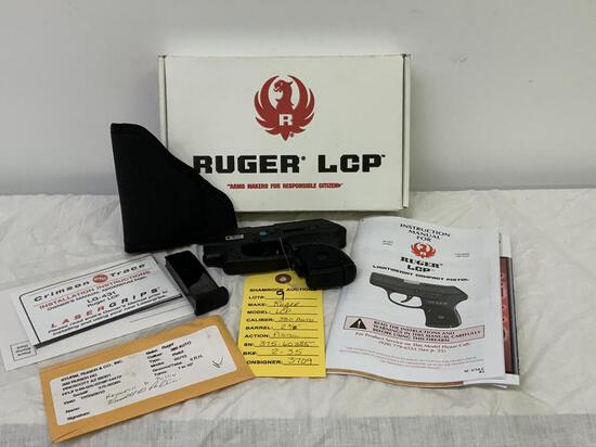 "Ruger, LCP, 380 Auto, sn: 375-60385, 2 3/4"" brl, Pistol,"