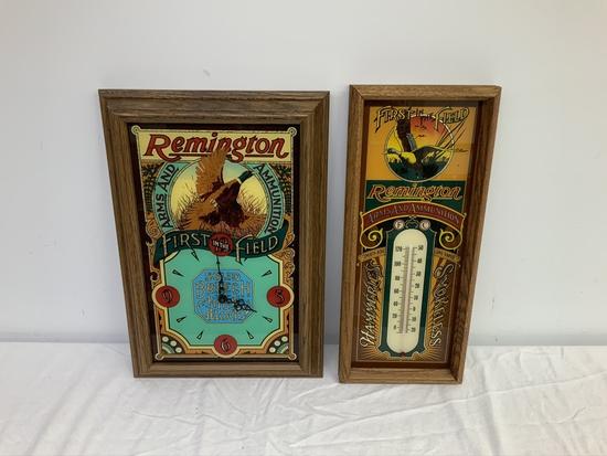 Remington Advertising Lot 2 pcs