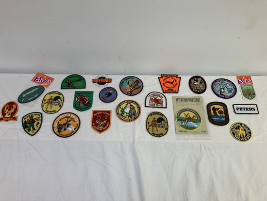 Lot of 21 Patches