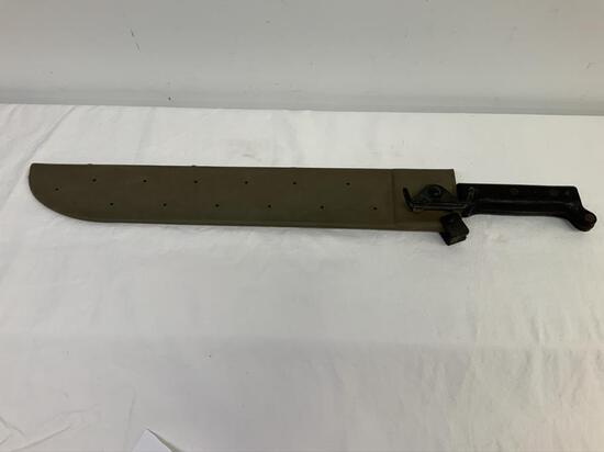 Machete Ontario Knife Co U.S. Marked on machete,