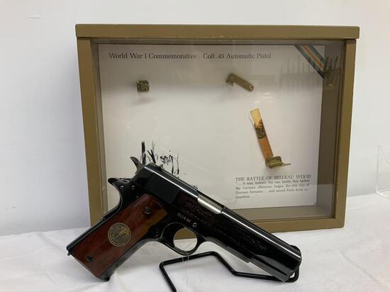 "Colt 1911 45 auto pistol, sn 3119-BW, 5"" barrel,"