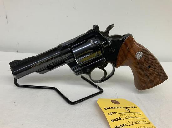 """Colt Trooper MK III .357 mag revolver, sn L4258, 4"""" barrel,"""
