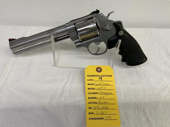 Smith & Wesson 629-3 44 magnum revolver, sn BPW2536,
