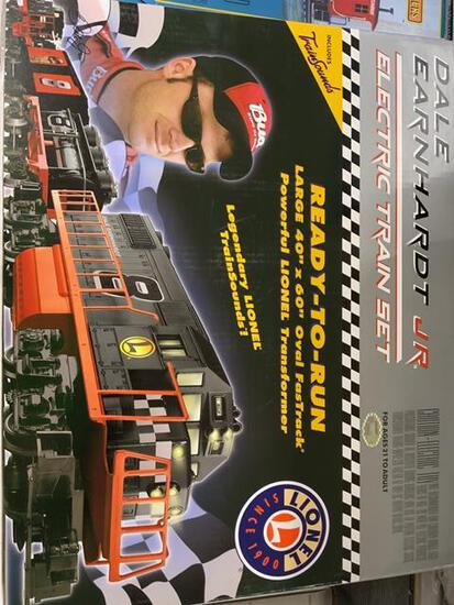 lionel dale earnhardt jr train set with original box