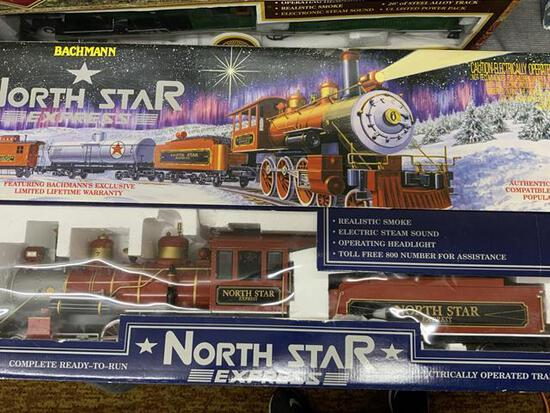 bachmann north star express train set in original box