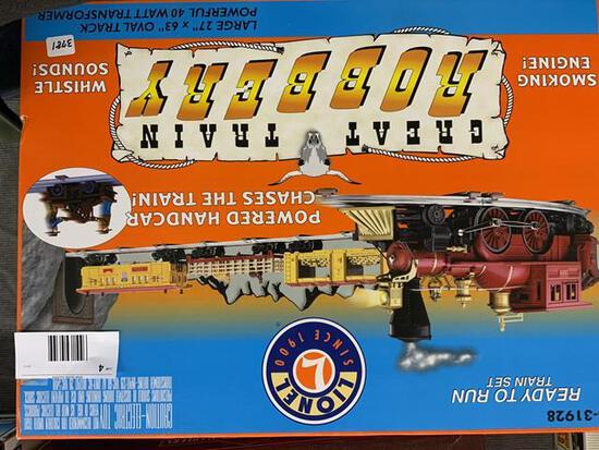 Lionel Great train robbery train set in original box