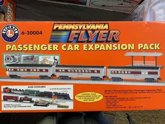 Lionel pa flyer passenger car expansion pack