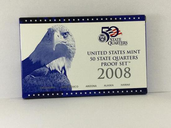 2008 United States Mint 50 State Quarter Set S Mint