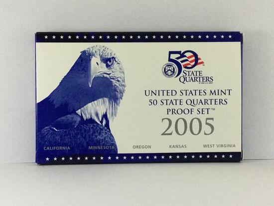 2005 United States Mint 50 State Quarter Set S Mint