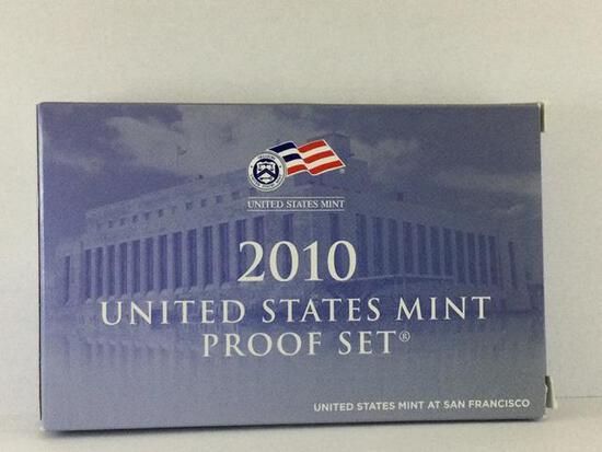 2010 United States Mint Proof Set, S Mint