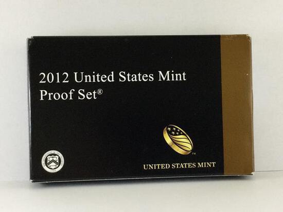 2012 United States Mint Proof Set, S Mint