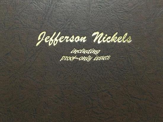United States Jefferson Nickels 1938-2011 P, D, & S Proof