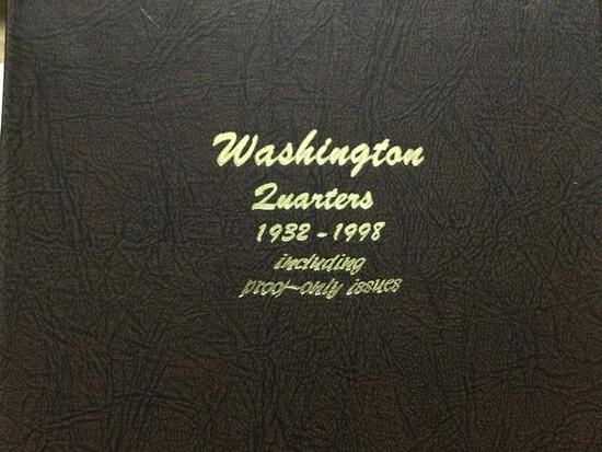 United States Washington Quarters 1932-1998 missing many