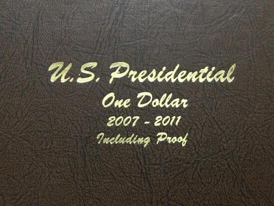 United States Presidential One Dollars 2007-2011, P, D & S Mint