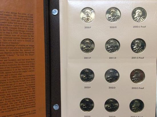 Sacagawea 2000-2012 Dollars, P, D & S Proofs