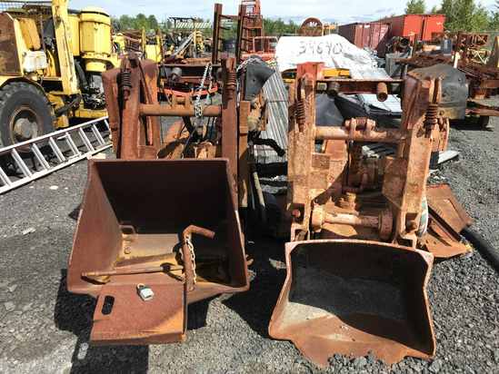 Four (4) only, Rocker Shovel Loaders and Components