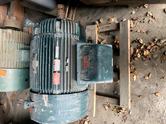 One (1) 200hp Reliance Electric Duty Master A-C Motor