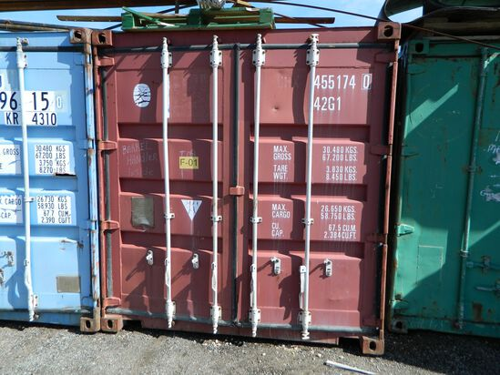 Shipping Container Number: 455174