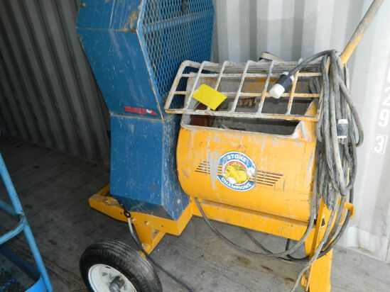 Cement Mixer, Stone 655PM With Electric Motor