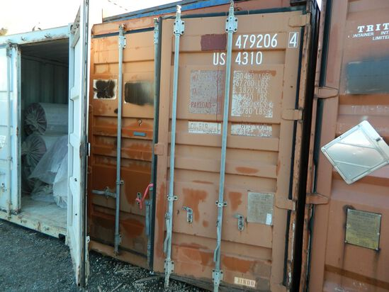 Shipping Container Number: 479206