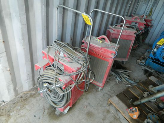 Eight (8) Hx100 Heat Exchangers With Hose And Insulation