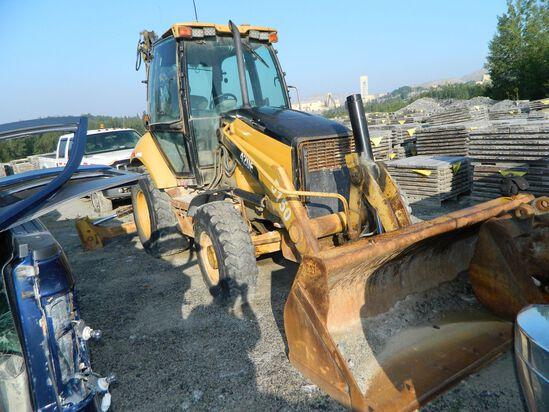 Cat 420E Backhoe