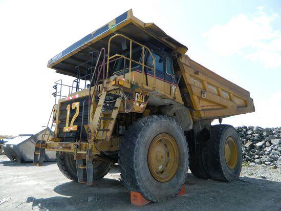 CAT 777D Truck