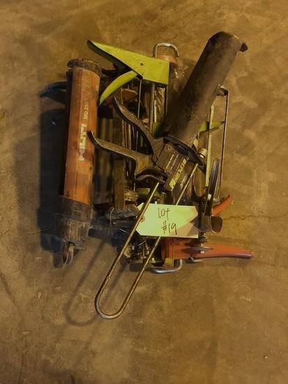 Various caulk guns