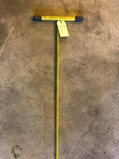 Fiber glass ground probe