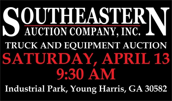 Spring Truck and Equipment Auction