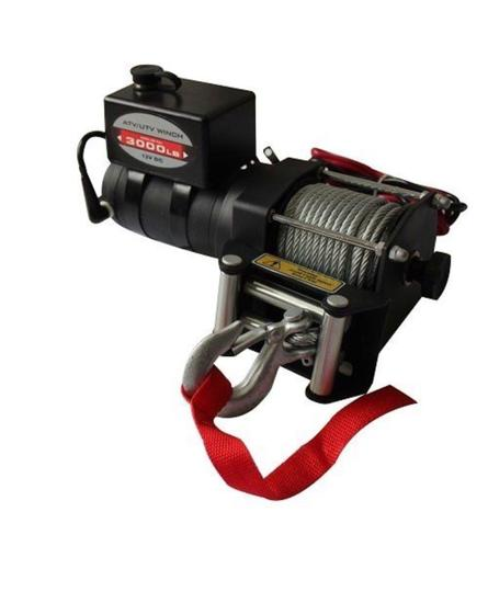 New/Unused 12 Volt ATV/UTV 3000 lbs Winch