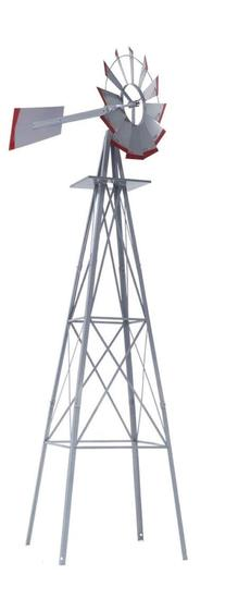 New 8ft Windmill (Silver)