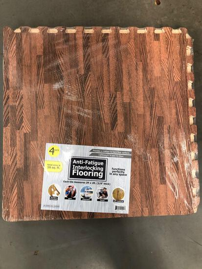 New (4) Pack Anti-Fatigue Flooring