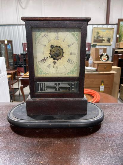 Antique Clock With Stand