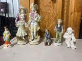 (6) Decorative Figurines