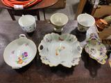 Antique Cups & Plates