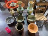 Vintage Flower Vases & Clay Pots