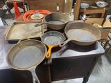 Vintage Cast Iron Cooking Pans