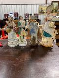 (4) Vintage Decorative Figurines
