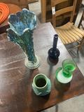(4) Flower Vases