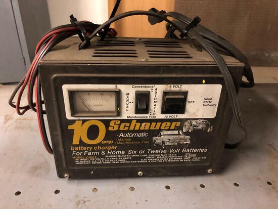 Schauer 10 Amp Battery Charger