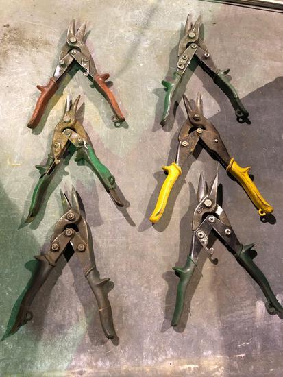 Various Tin Shears