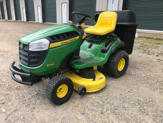 John Deere E130 Riding Lawn Mower