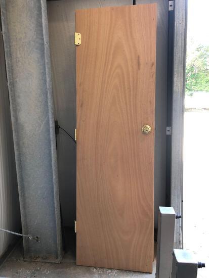 (2) Wooden Doors
