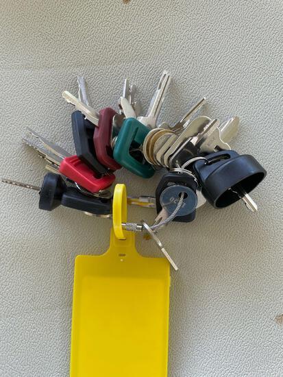 Equipment Key Ring Set