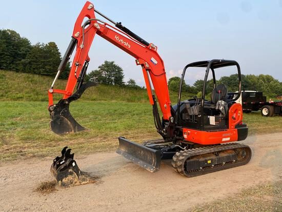 2021 Kubota KX040-4 Excavator