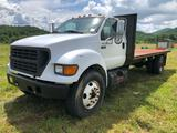 2000 Ford F650 Flatbed