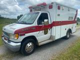 1998 Ford E350 Ambulance Diesel