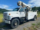 1990 GMC TopKick Crane Truck