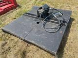 5 ft Skid Steer Rotary Cutter